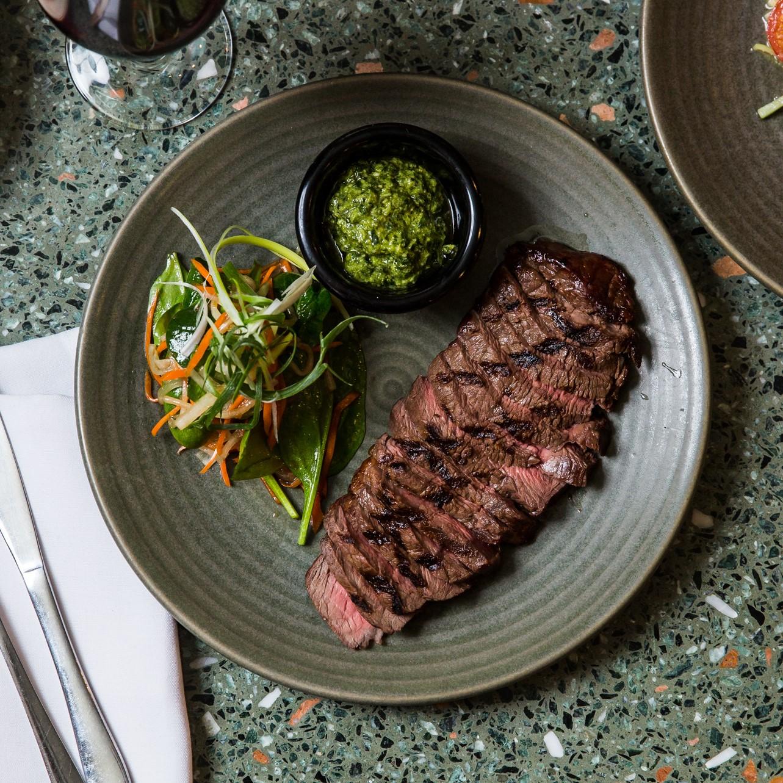 300g Rangers Valley Rump Steak   Asian pesto & salad (GF)   34