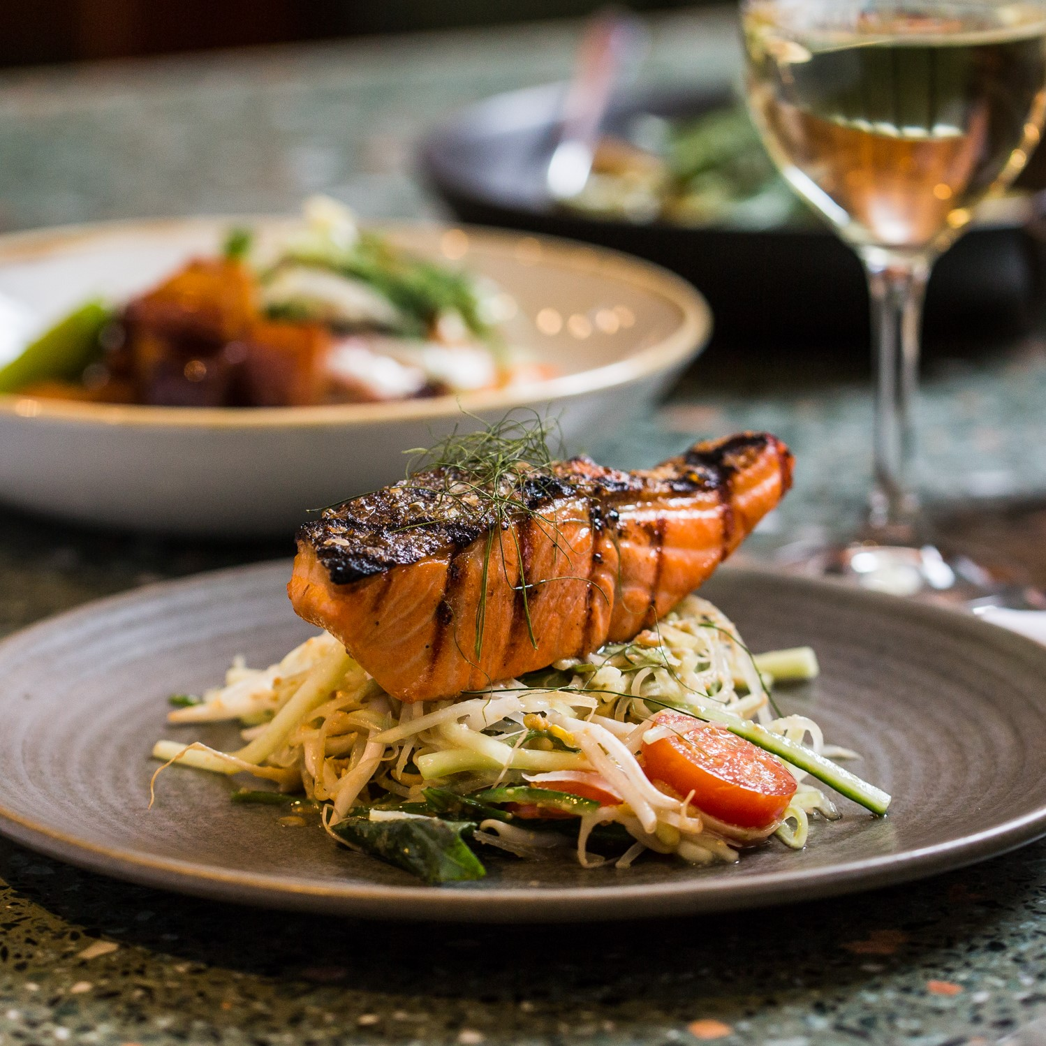 Grilled Ocean Trout Fillet | green papaya salad (GF) | 28